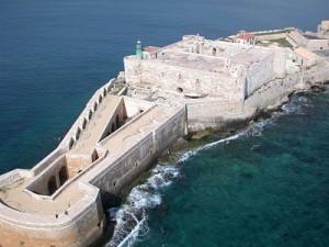 Castello Maniace sulla Punta Estrema di Origia