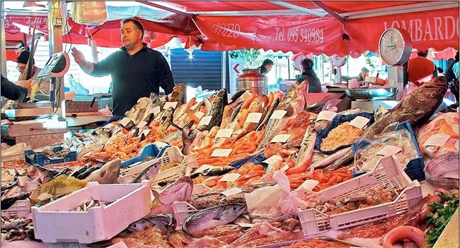 La Pescheria, il Mercato del Pesce di Catania